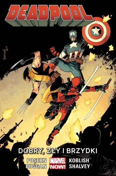 Deadpool: Dobry, Zły i brzydki, tom 3 praca zbiorowa