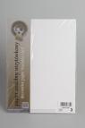 Papier wizytówkowy A4 20 arkuszy 240g/m2 - Biały len