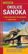 Okolice Sanoka Góry Sanocko-Turczańskie Szlak ikon mapa turystyczna 1:50 000