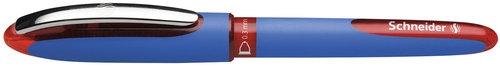 Pióro kulkowe Schneider One Hybrid C, 0,3 mm, czerwony