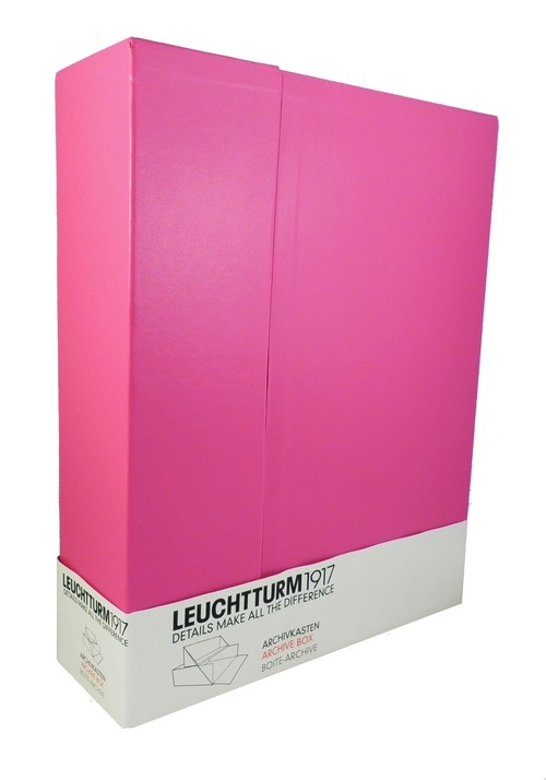 Pudełko na dokumenty A4 Leuchtturm1917 różowe