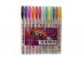 Długopis brokat w etui 12 kolorów