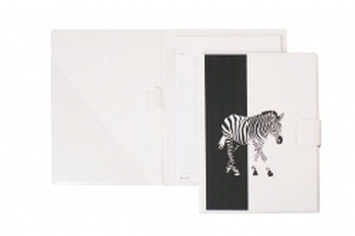 Notes A5 na rzep Zebra