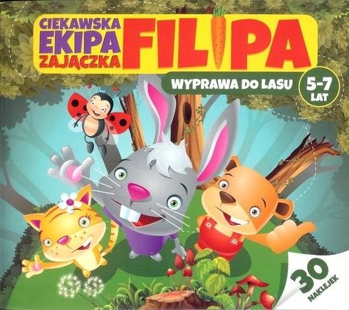 Ciekawska ekipa zajączka Filipa 5-7 lat Bubicz Martyna