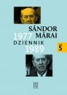 Dziennik 1977-1989. Tom 5 Marai Sandor
