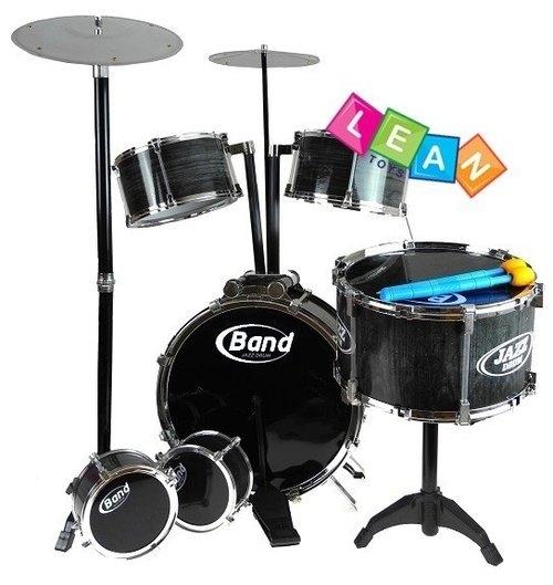 Ogromna perkusja jazz drum set gigant 6 bębnów