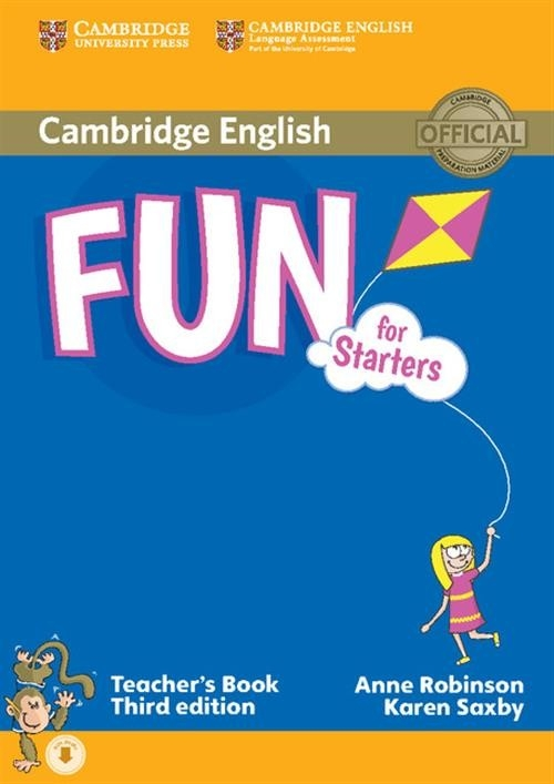 Fun for Starters Teacher's Book Robinson Anne, Saxby Karen
