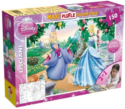 Puzzle dwustronne Maxi 150 Kopciuszek (46720)