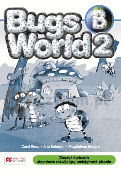 Bugs World 2 AB (B) bez pisania (materiał ćwiczeniowy) Carol Read, Ana Soberon, Magdalena Kondro