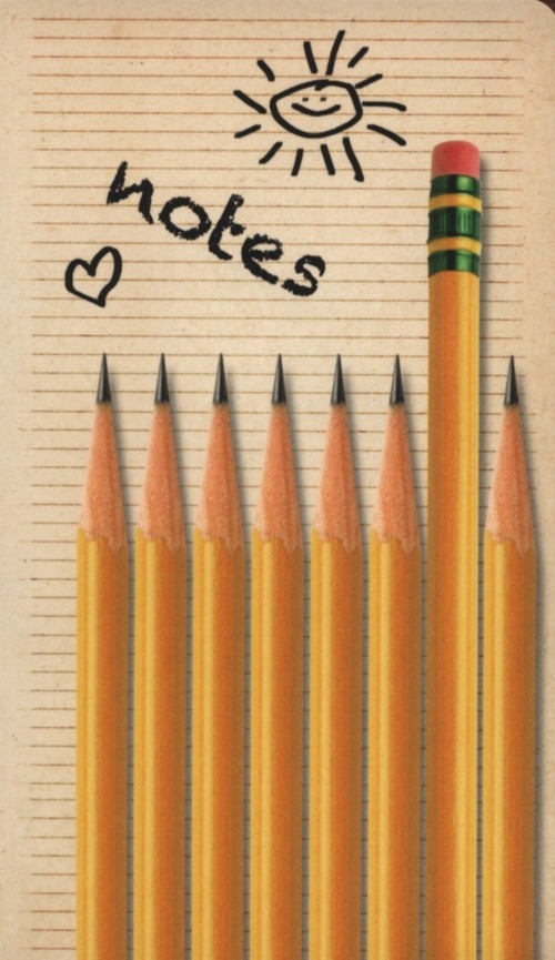 Notes bloczkowy ND 120 z długopisem Ołówki