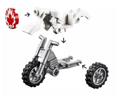 Lego Juniors: Toys Story 4 - Pokaz kaskaderski (10767)