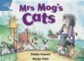 Rigby Star Guided 1 Blue Level: Mrs Mog's Cats Pupil Book (Single)