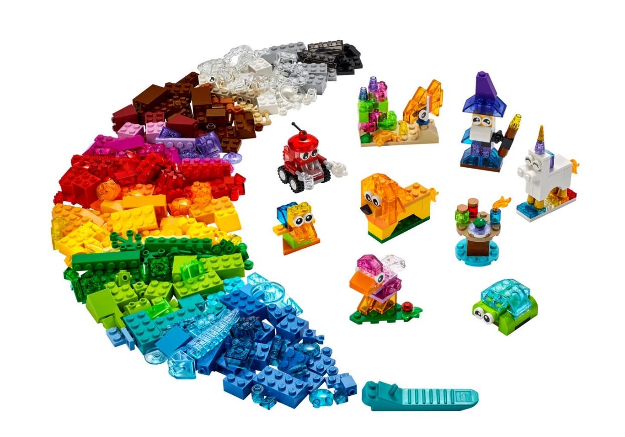 Lego Classic: Kreatywne przezroczyste klocki (11013)
