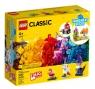 Lego Classic: Kreatywne przezroczyste klocki (11013) Wiek: 4+