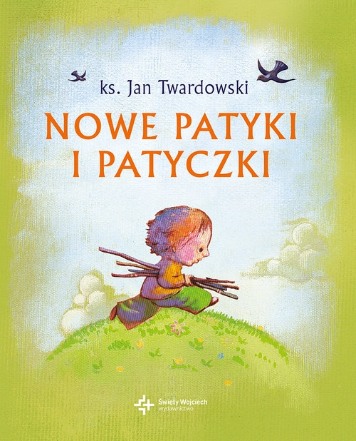 Nowe patyki i patyczki (Uszkodzona okładka) Twardowski Jan