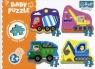 Puzzle Baby Classic: Pojazdy na budowie (36072)