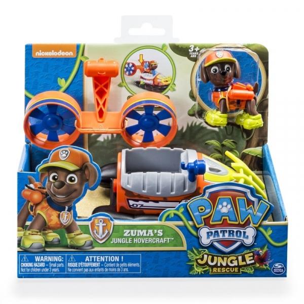 PSI PATROL Pojazd specjalny z figurką Jungle, Zuma (6031703/20079030)