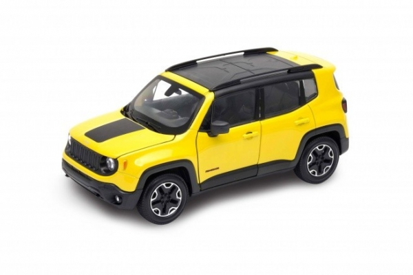 Model kolekcjonerski Jeep Renegade Trailhawk żółty (24071-2)