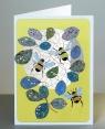 Karnet PM172 wycinany + koperta Pszczoły