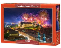 Puzzle Fireworks over Wawel Castle, Poland 500 (B-52721)
