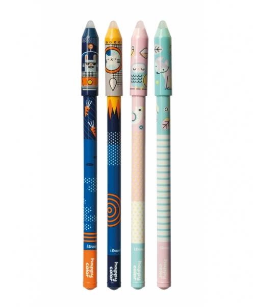Długopis usuwalny Happy Color Space/Story 0,5mm, niebieski (1474-3)