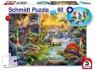 Puzzle 60 Dinozaury + zestaw figurek G3