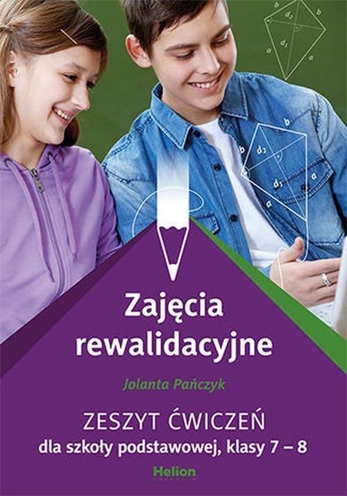 Zajęcia rewalidacyjne Zeszyt ćwiczeń dla szkoły podstawowej klasy 7-8 Pańczyk Jolanta