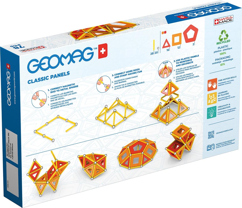 Geomag Eco Panels - 78 elementów (GEO-472)
