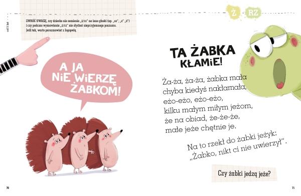 Wierszyki ćwiczące języki Galewska-Kustra Marta, Szwajkowska Elżbieta, Szwajkowski Witold