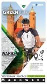 Warszawa i okolice - część północna  mapa tras rowerowych