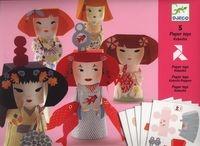 Składanki papierowe Laleczki Kokeshi