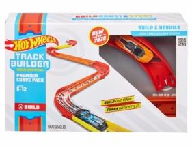 Hot Wheels Track Builder Unlimited: Zakręty - zestaw do rozbudowy (GLC87/GLC88)