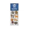Naklejki Sticker BOO silver dzikie zwierzęta