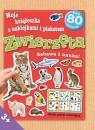 Moja książeczka z naklejkami i plakatem - Zwierzęta