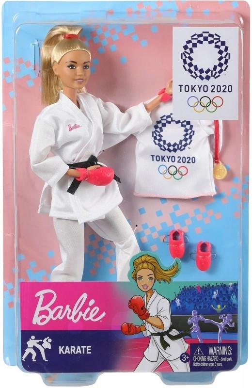 Lalka Barbie Olimpijka Karateczka (GJL73/GJL74)