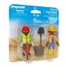 Playmobil: DuoPack - Robotnicy budowlani  (70272)