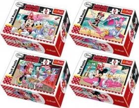 Puzzle 54 mini Minnie i Daisy na wakacjach mix