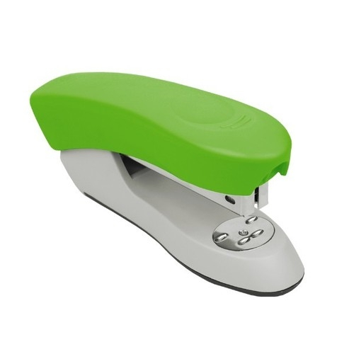 Zszywacz plastikowy zielony fluo 25 kartek