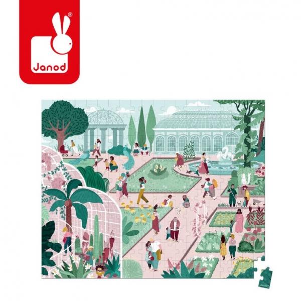 Puzzle w walizce 200: Ogród botaniczny (J02672)