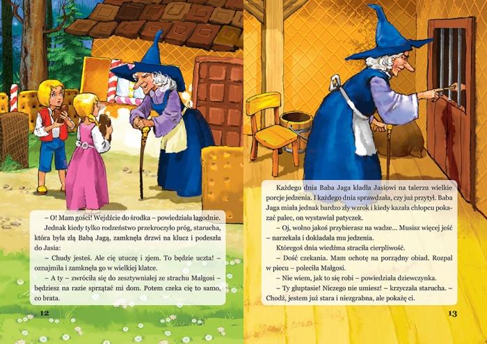 Jaś i Małgosia Jakub i Wilhelm Grimm