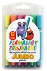 Flamastry trójkątne Jumbo 12 kolorów