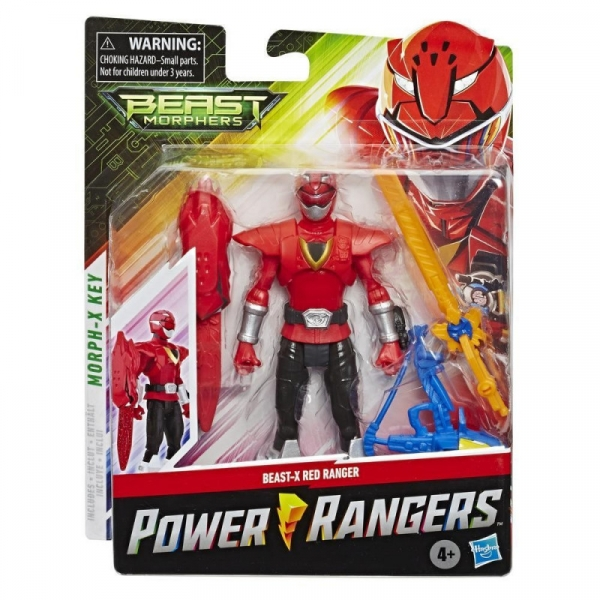 Figurka Power Rangers 15 cm, Red (E5915/E7827)