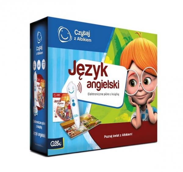 Czytaj z Albikiem. Język Angielski. Mówiące pióro z książką (72306) Praca zbiorowa