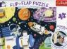 Flip-Flap Puzzle z okienkiem 36 Kosmos (14272)