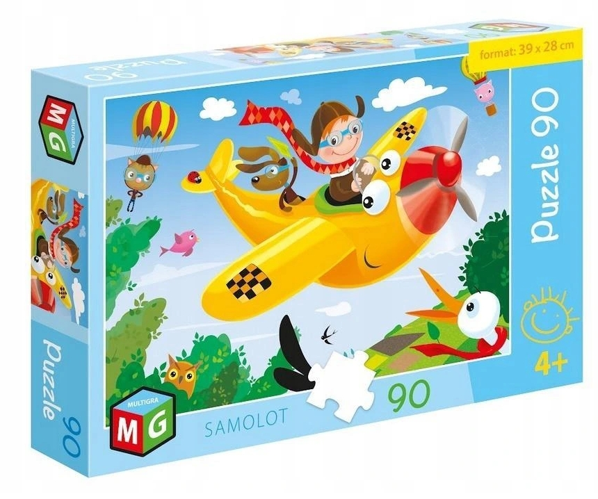 Puzzle 90: Samolot (0572)