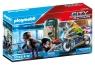 Playmobil City Action: Policyjny motor - Pościg za przestępcą (70572)