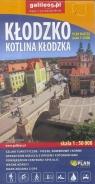 Plan miasta - Kłodzko. Kotlina Kłodzka 1:8 000 praca zbiorowa