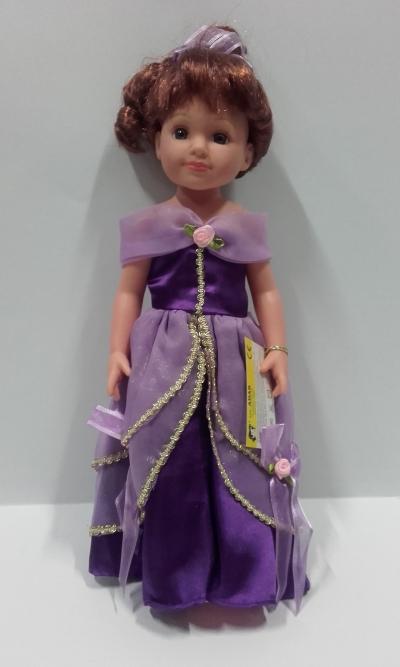 Lalka księżniczka 38 cm winylowa