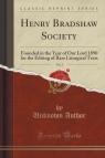 Henry Bradshaw Society, Vol. 3