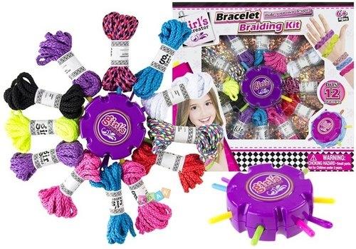 Zestaw kolorowych sznurków do robienia biżuterii